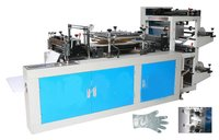 Ht-Cpe600 Double Layers Disposable Glove Making Machine