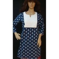 Cotton Kurtis with Patch Work