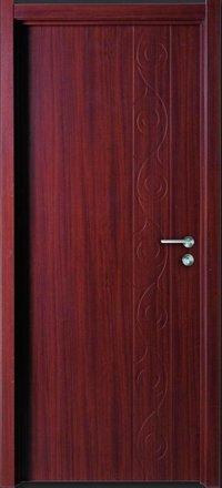 Interior Use Mdf Door With Pvc Membrane