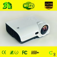 3000 Lumens Dlp Short-Throw Interactive Projector With Pen