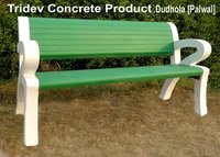 Concrete Bench With Hand Rest
