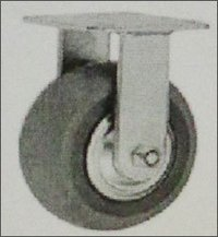 Zinc Powder Coated Heavy Duty Pu Caster Wheel