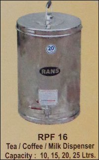 Tea And Milk Dispenser (Rpf 16)