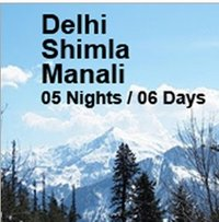 Delhi Manali Shimla Tour Package