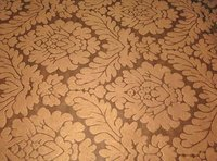 Poly Suede Embossed Fabric