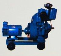 7.5 Kva Generator Set With Single Cylinder Diesel Engine
