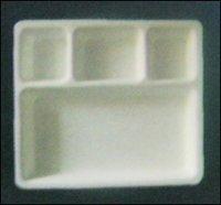 Square Type Chola Puri Acrylic Plate