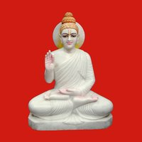 Gautam Buddha Marble Idol