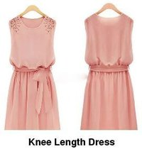 Knee Length Dress