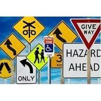 Road Safety Sign Boards