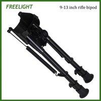 9-13 Inch Rifle Bipod Tactical Heavy Duty Pivot Notch Leg Bipod For Rifle Gun