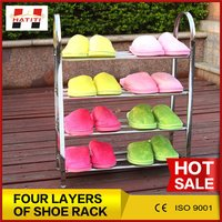 Stainless Steel Five Layers Shoes Rack