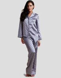 Ladies Silk Night Suit