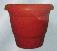 Brick Color Decorative Pots For Indoor Plants