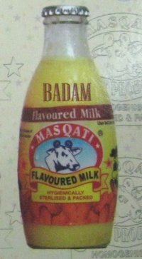 Badam Flavored Milk