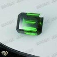 Emerald Cut Large Cubic Zirconia