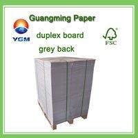 Duplex Board With Grey Back