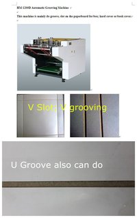 Paper Box Grooving Machine