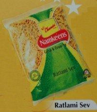 Ratlami Sev Namkeens (Clear Packs)