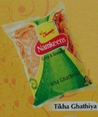 Tikha Ghathiya Namkeens (Clear Packs)