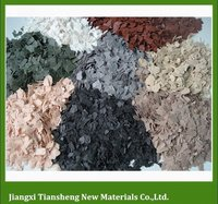 Colorful Composite Acrylic Polymers For Granite Effect Exterior Coating