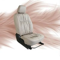 Vision-Black-White Car Seat Cover