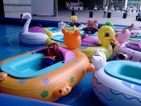 Kids Bumper Boat Amusement Ride And Game