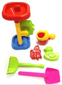 Colourful Sand Beach Tool Toys For Kids