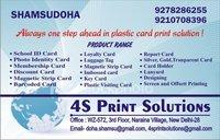 Plastic Visiting Card