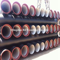 En545 Ductile Cast Iron Di Pipe