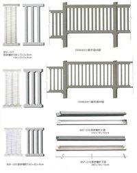 Plastic Mould For Road Foundation Guardrails