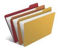 Plastic File Folders