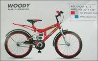 Junior Series Woody Rear Suspension Kids Bicycles