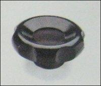 Black Glossy Lobe Clamping Knobs