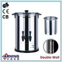 6.8L~20L Catering Water Urn Tea Maker Double Dispensers Turkish Tea Dispenser