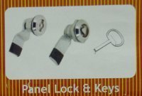 Panel Lock And Keys