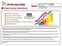 Data Entry And Processing Services