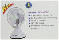 Rechargeable Table Fan (Mg-5008f)