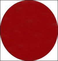 Single Velvet Red Bindi