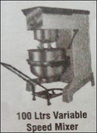 100 Ltrs Variable Speed Mixer