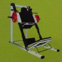 Hack Squat And Leg Press Gym Machine