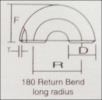 180° Return Bend Long Radius