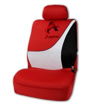 Beautiful Red Designer Car Seat Cover