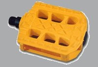Colored Plastic Bicycle Pedals