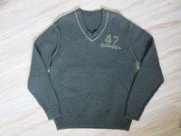 V Neck Woolen Sweater