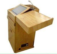 Digital Wooden Podium (Sil-506)