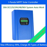 30a Mppt Lcd Display Solar Controller