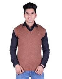 Durable Mens Winter Sleeveless Sweater