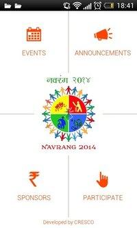 Navrang - Event / Conference Details And Promotion Mobile App