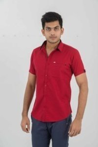 Men Designer Half Sleeve Shirt